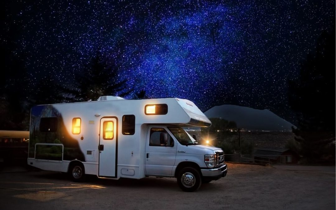 A small travel trailer perfect for vacations and long road trips.
